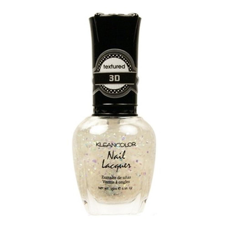 (6 Pack) KLEANCOLOR 3D Nail Lacquer - Sugar Factory (並行輸入品)