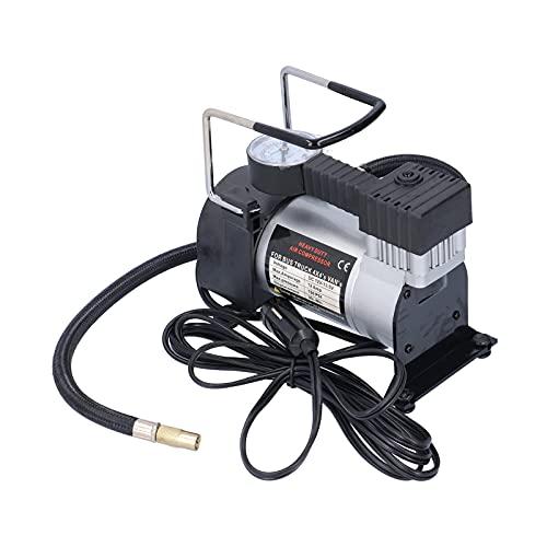 Compresor de aire, Acouto compresor portátil de bomba de inflado 150PSI con adaptador de 3 boquillas