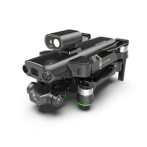 8K UHD GPS Drone per adulti, 3 assi Gimbal & OAS. Evitazione ostacolo laser, motore brushless, 5g WiFi FPV. Video in diretta RC. Quadcopter, Tempo di volo 25 minuti, Distanza di controllo 1200m