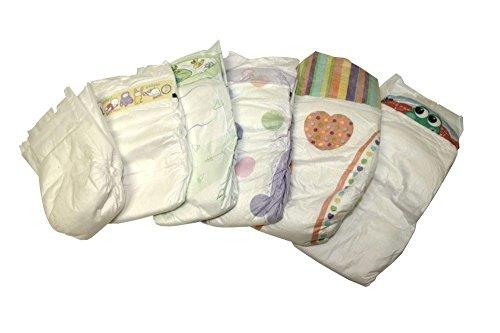 Windeln Babywindeln NEWBORN MINI MIDI MAXI JUNIOR Gr 1 Gr 2 Gr 3 Gr 4 Gr 5 Gr 6 (Größe 4 Maxi von 9 bis 18 kg 150 Stück)