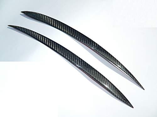 Carbon Scheinwerfer Blenden Scheinwerferblenden Eye Lids Eyelids passend für Golf 7