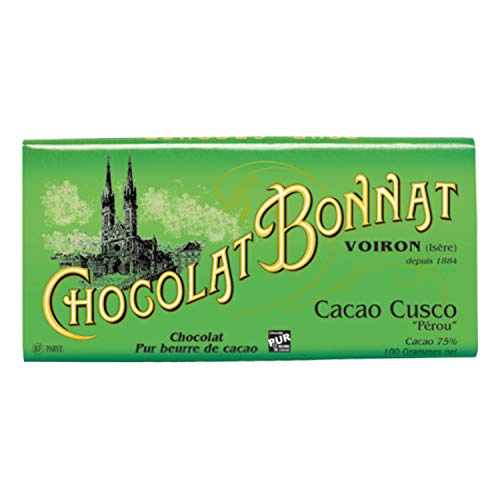 Cacao Cusco 75%, 100g Bonnat - Schokoladentafel - Bonnat