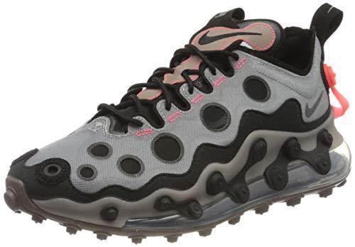 Nike Air MAX 720 Ispa, Zapatillas para Correr Hombre, Metallic Silver/Black/Black, 43 EU