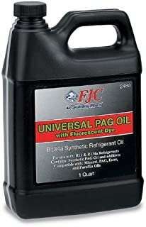 FJC 2480 PAG Universal Oil with Fluorescent Leak Detection Dye (1 Quart)