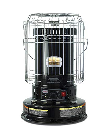 Dyna-Glo WK24BK 23,800 BTU Indoor Kerosene Convection Heater, Black