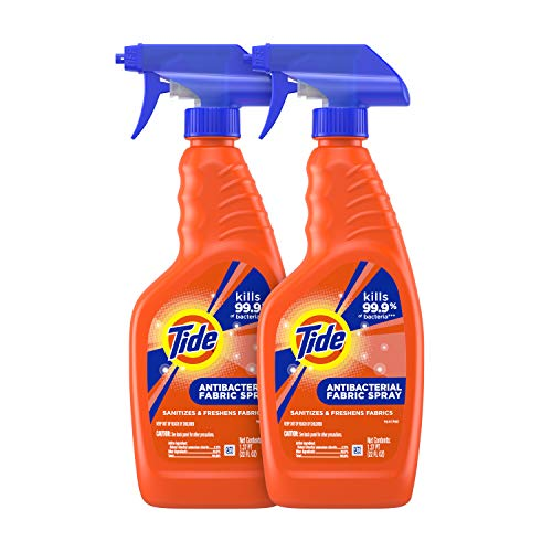 Tide Antibacterial Fabric Spray, 2 Count, 22 Fl Oz Each, 2 Count