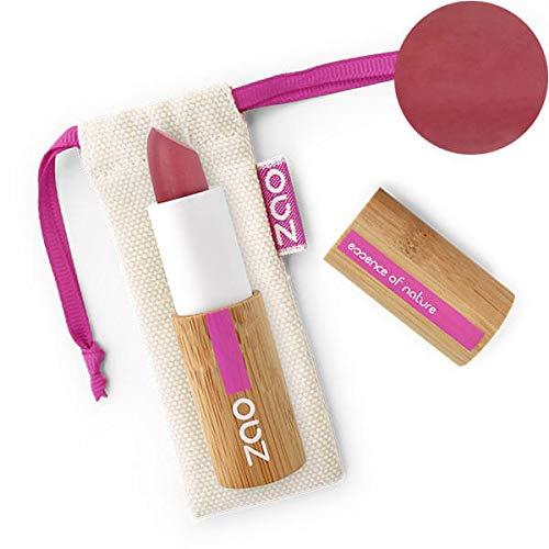 ZAO Matt Lipstick 469 nude-rose beige-rosa, Lippenstift in nachfüllbarer Bambus-Hülse (bio, vegan)...