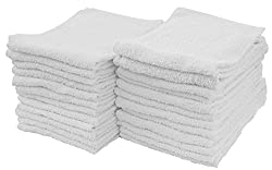Image: Cotton Terry Cleaning Towels | Super absorbent and hemmed for durability