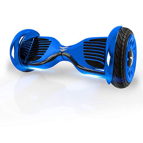 """Hover-1 Titan Electric Self-Balancing Hoverboard Scooter with 10"""" Tires, Blue"""