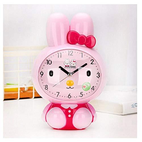 ZYZYY Cartoon elektronische timer Nixie klok digitale timer stille nachtlamp spraakoproepen wekker voor kinderen huis slaapkamer kunststof