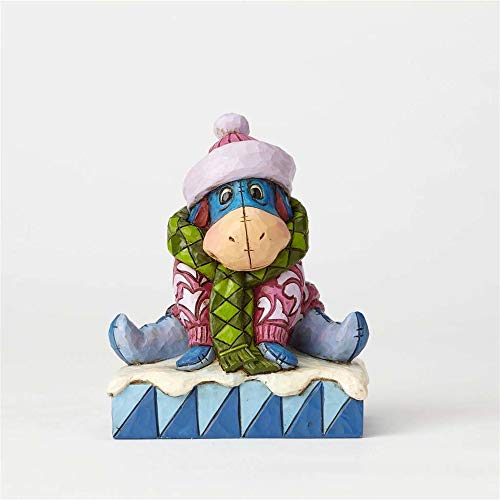 Enesco Disney Traditions by Jim Shore Winnie The Pooh Eeyore Waiting for Spring Stone Resin Figurine