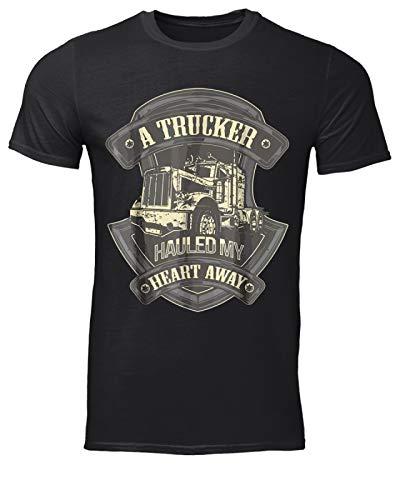 GKVidi A Trucker Hauled My Heart Away Camiseta