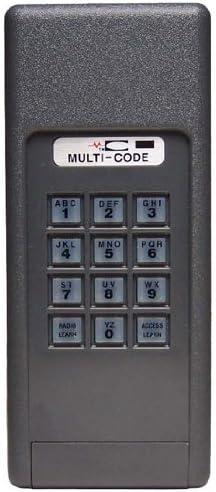 Multi Code 4200 Garage Door Opener Keyless Entry 300mhz Garage Door Remote Controls Amazon Com