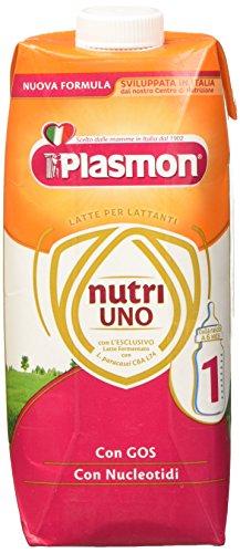 Plasmon Nutri-Uno Latte Liquido Stage 1, 12 Confezioni x 500 ml