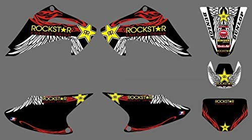 Graphic Background Decal Sticker Kit Attention brand CRF150 CRF230 Honda C Max 48% OFF for