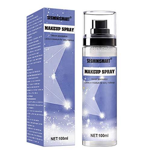 Makeup Spray Fijador, Makeup Setting Spray, Spray Fijador De Maquillaje, Acabados de maquillaje,Spray de fijación para maquillaje, Larga duración, Ligero,100ml