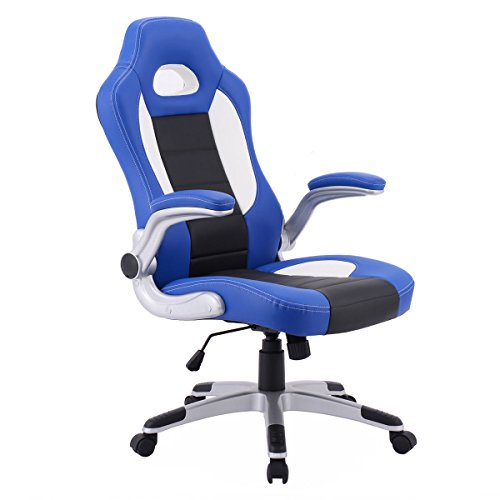 PU Leather Executive Racing Style Bucket Seat Chair 2017 Office Desk Chair