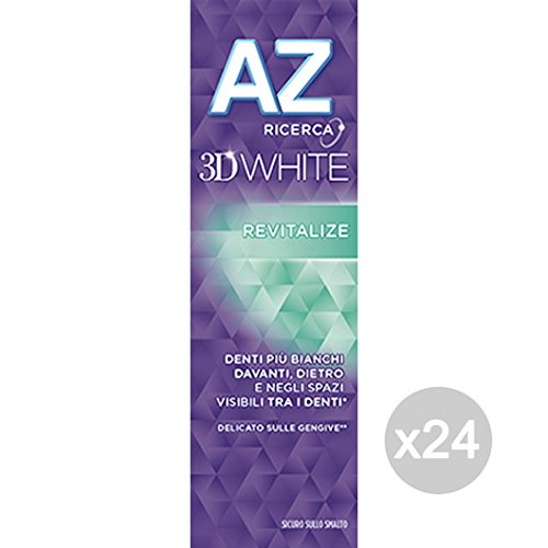 Set 24 AZ 3D White Toothpaste Mint Revitalize 75 Pure Health And Dental Care