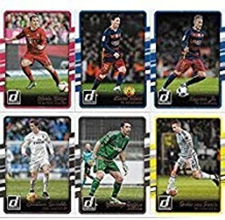 2016 Donruss Soccer Cards Complete Regular Issue Set (200 cards) Lionel Messi, Cristiano Ronaldo, Neymar, and more!