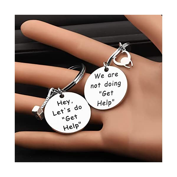 TIIMG Friendship Jewelry Gift for Friend Hey Let's Do Get Help Gift for Friend