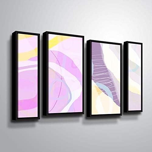 ArtWall Delores Orridge Naskrent Recommendation Online limited product 'Grape Floater 4 Piece Crush' F
