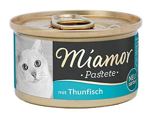 Miamor Katzenfutter Pastete, Fisch und Fischnebenerzeugnisse, 12er Pack (12 x 85 g)