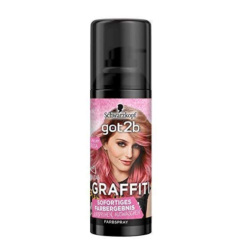 Schwarzkopf got2b GRAFFITI Farbspray, Unicorn Rosa, Haarspray, 1er Pack (1x 120ml)