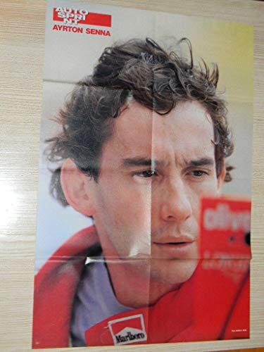 Q18 Poster Ayrton Senna Autosprint