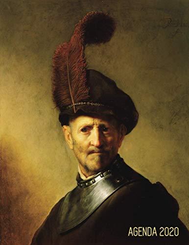 Rembrandt Agenda Diaria 2021: Un Anciano en Traje Militar | Planificador Enero a Diciembre 2021 | 52 Semanas Enero a Diciembre 2021 | Maestro Holandés