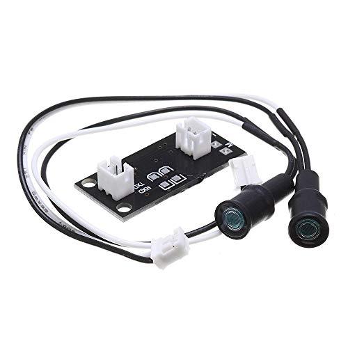 Für Arduino-Kits, DC 5-5.5V Lichtquelle-Tracking-Sensor-Solar Automatische Tracker Licht Seeking Modul Ray Tracing