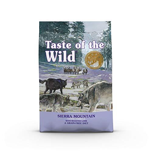Taste Of The Wild Sierra Mountain - Pienso para Perros con Cordero Asado 12,2kg ⭐