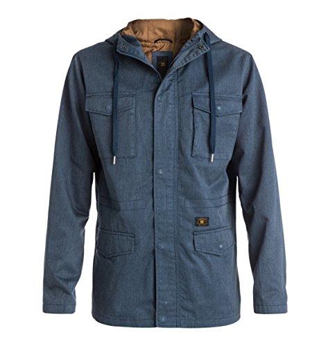 DC Clothing Mastadon 2 Blouson, Bleu (Blue Iris), (Taille Fabricant: Large) Homme