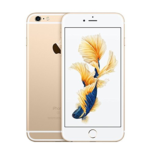 Apple iPhone 6SS Plus, 128GB, Gold - For AT&T / T-Mobile (Renewed)