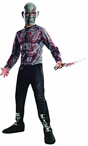 Rubies Guardians of The Galaxy Drax Destroyer Costume, Child Small