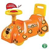 Tera Toys Uno Giochi Primipassi Bau Bau Spingi e Vai 57x26x36 cm Colore Arancione Giochi a...