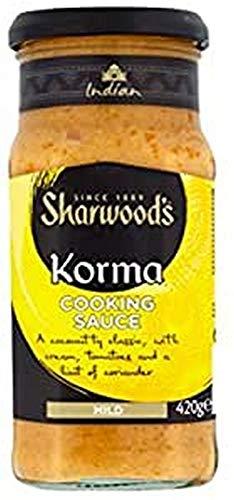 Sharwoods Salsa Korma Vidrio 420
