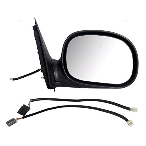 Passengers Power Side View Contour Mirror W Adapter Replacement For Ford F