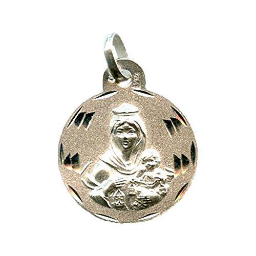 Medalla Virgen del Carmen 17 MM Plata DE Ley