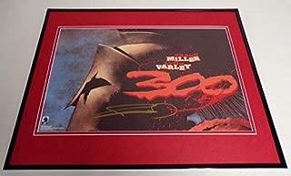 frank miller signed print
