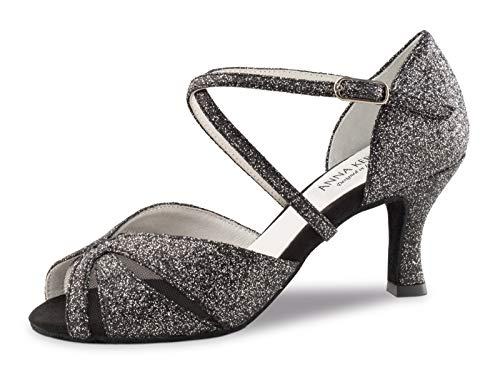 Anna Kern 780-60, Zapatos de Baile Mujer, Negro Brillante, UK 3.5/EU (36 2/3)