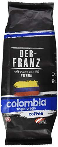 Der-Franz Columbia Single Origin Kaffee UTZ, ganze Bohne, 3x500g