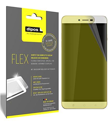 dipos I 3X Schutzfolie 100prozent kompatibel mit Coolpad Torino R108 Folie (Vollständige Bildschirmabdeckung) Bildschirmschutzfolie
