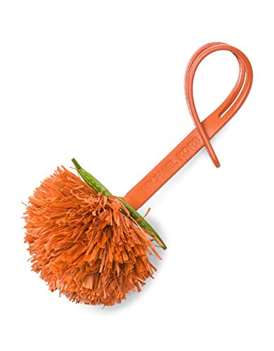 Michael Kors Ultra Charms Novelty Tangerine Pom-Pom Accessory
