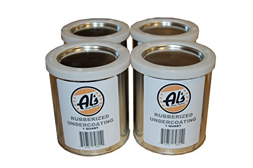 Al's Liner ALS-UCR1G Black ALS-Ucr Premium DIY Rubberized Undercoating, 1 Gallon, 1 Pack