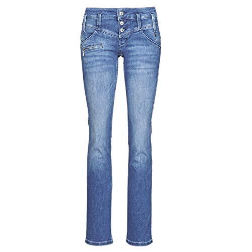 Freeman T. Porter Damen Jeans Amelie blau M (28-29)