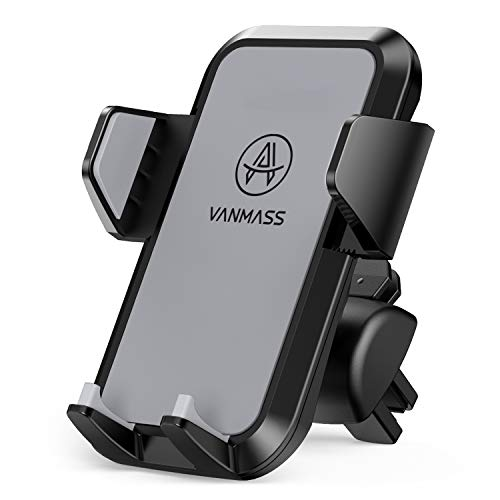 VANMASS Universal Air Vent Car Phone Holder, Patent Quick Release Button Cell Phone Holder for Car,...