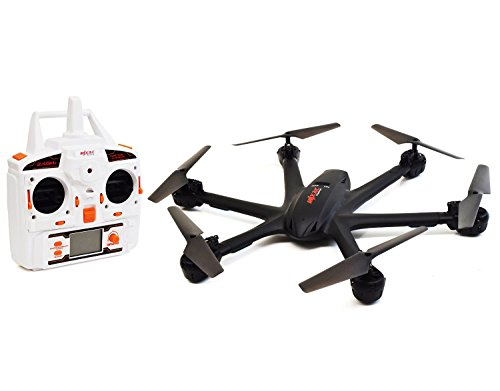 MJX X600 X-SERIES [RX Aerio Exclusive] 2.4GHz 4 Channel 6 Axis RC Remote Control Hexacopter UFO Drone with Headless Mode and Auto-Return Feature (Without Camera - Black)