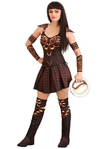 Women's Xena Warrior Princess Fancy Dress Costume Large
