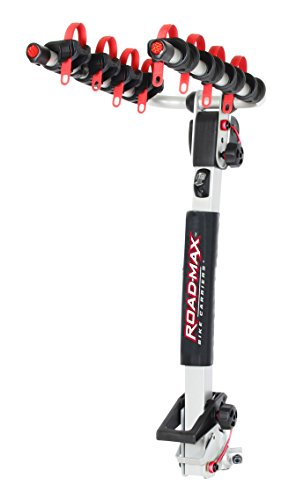 Road-Max RMRB4X Deluxe Hitch Mount 4 Bike Carrier