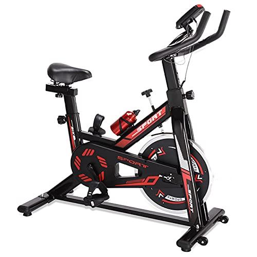 Spinning Bike Bici per La Casa per La Casa, La Bicicletta Stazionaria al Coperto con La Bottiglia E Il Monitor Digitale, La Palestra Aerobica Bike